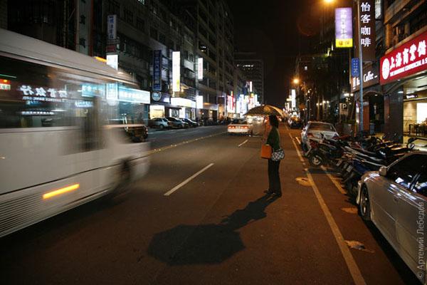 Город очень похож на Токио / Фото из Тайваня
