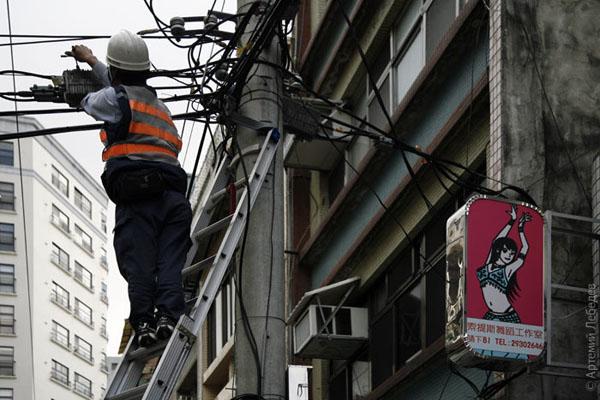 Провода... / Фото из Тайваня