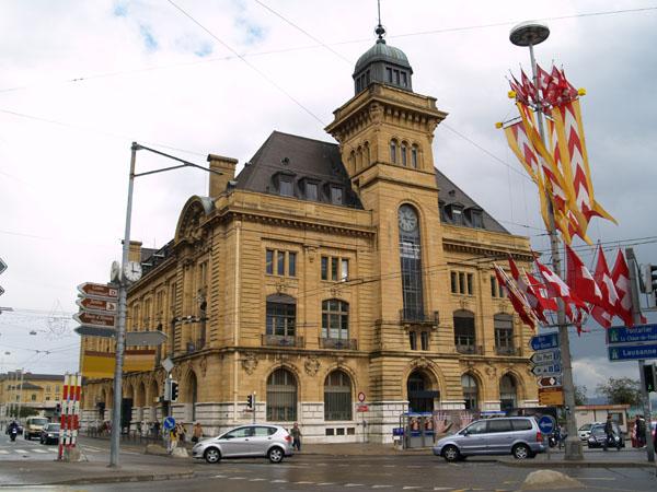 Здание почты XVII века / Фото из Швейцарии