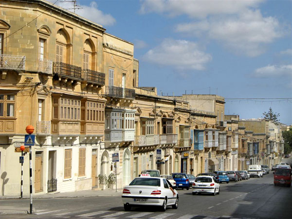 Улицы города Виктория, остров Гоцо / Фото с Мальты