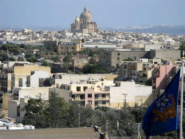 Вид на Рабат (Викторию) / Фото с Мальты