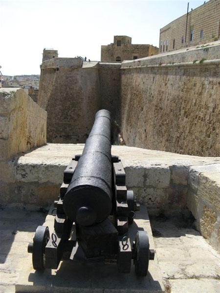 В крепости города Виктория / Фото с Мальты