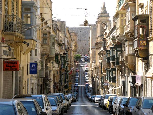 Улицы Валетты / Фото с Мальты