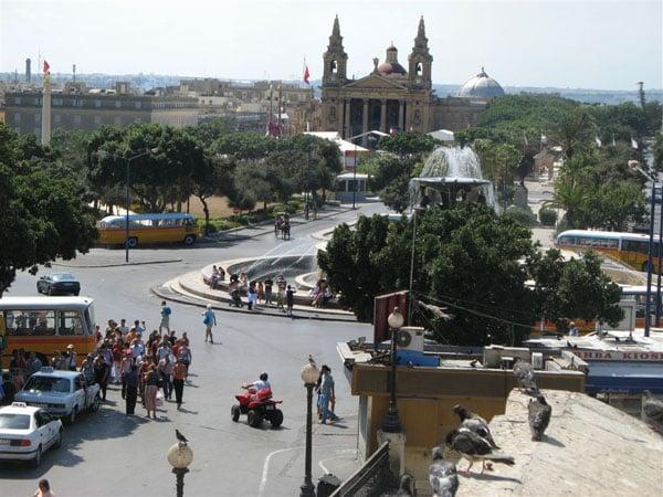 Валетта, центр города / Фото с Мальты