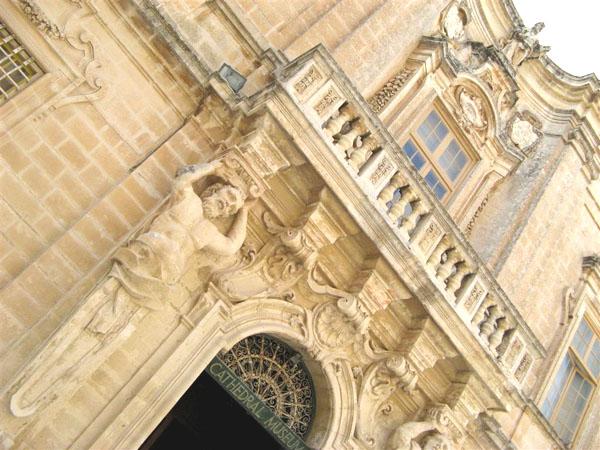 Фасад музея на улице Мдины / Фото с Мальты