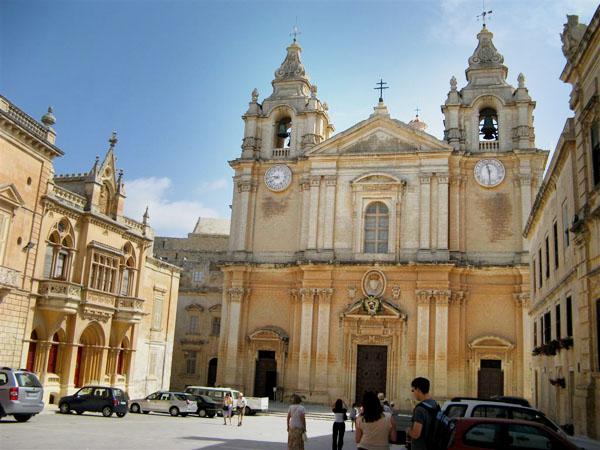 Мдина, Кафедральная площадь / Фото с Мальты