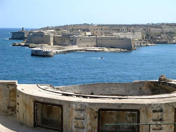 Вид с набережной Валетты / Фото с Мальты