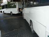 доминиканские автобусы - мотор сзади / Доминикана