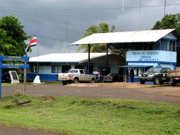 Пограничный пункт между Коста-Рикой и Никарагуа / Фото из Коста-Рики