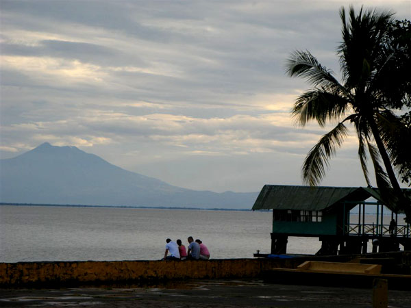 Вид на озеро Никарагуа / Фото из Коста-Рики