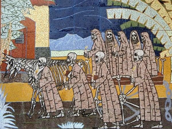 Мозаика в тюремном музее / Фото из Коста-Рики