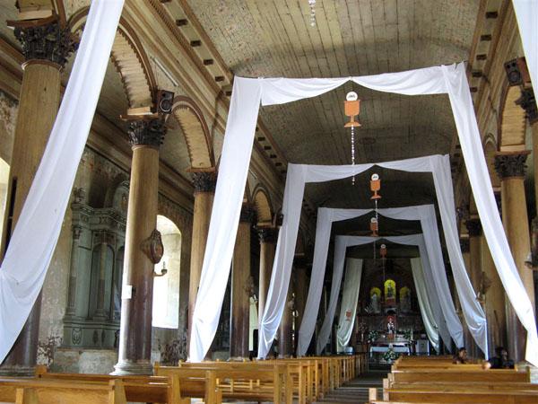 Интерьер собора в Сочитото / Фото из Коста-Рики