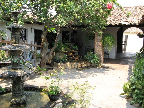 Дворик в Сочитото / Фото из Коста-Рики