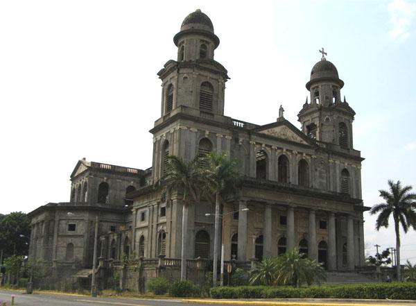 Собор в Манагуа / Фото из Коста-Рики