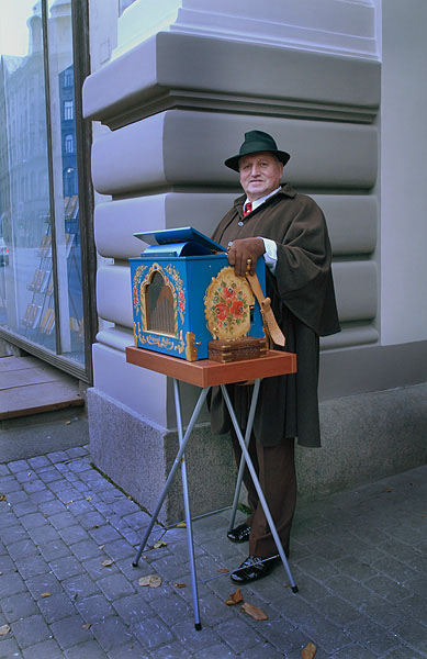 На улице в Риге / Фото из Латвии