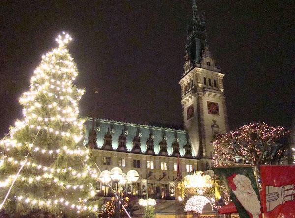 Рождество на Ратушной площади / Фото из Германии