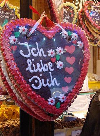 Сладкое признание в любви / Фото из Германии