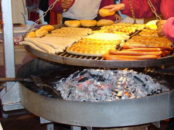 Гамбургские колбаски / Фото из Германии
