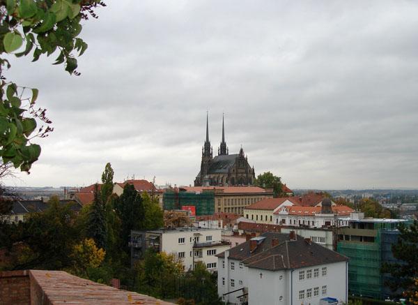 Панорама Брно / Фото из Чехии