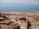 Вид на отели и Мертвое море / Иордания