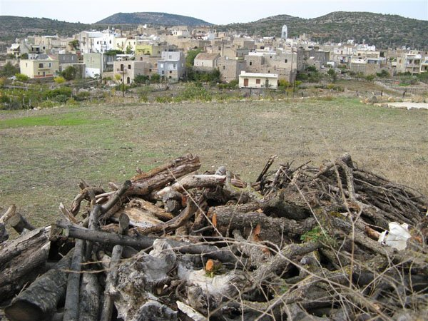 Традиционная деревня на острове Хиос / Фото из Греции