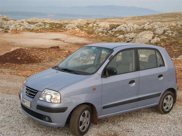 На этой машине мы путешествовали по острову Хиос / Фото из Греции