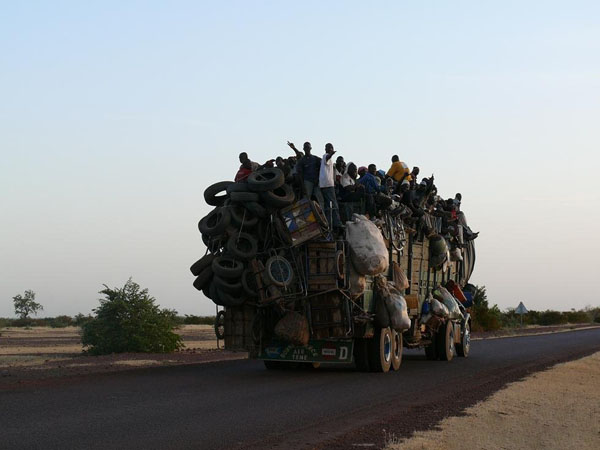 Так путешествуют по Мали местные жители / Фото из Мали