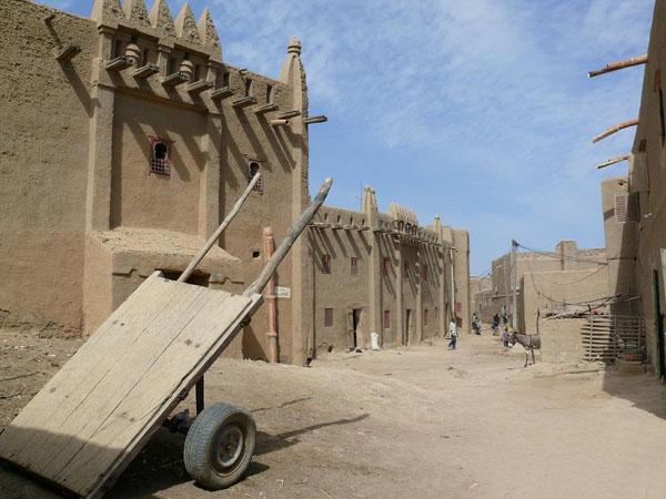 Улицы Дженне / Фото из Мали