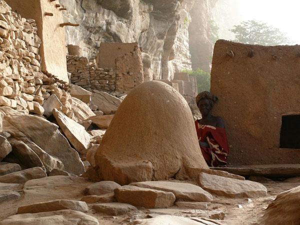 Языческое капище с фаллическим подтекстом / Фото из Мали