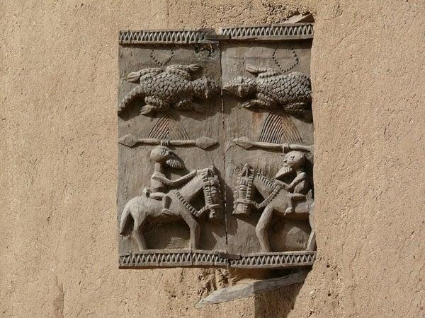 Догонские ставни / Фото из Мали