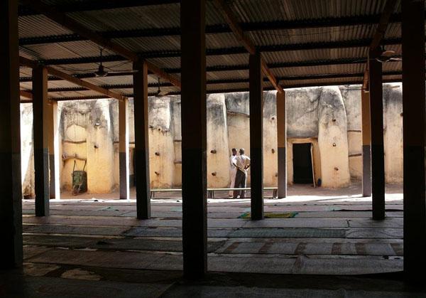Внутренний двор Большой мечети / Фото из Мали