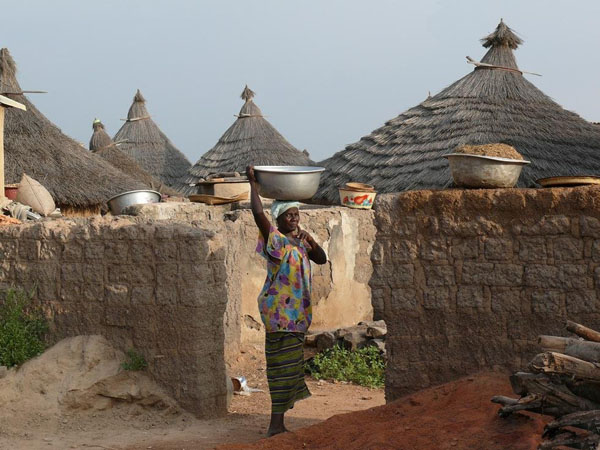 Жительница деревни Тингрела / Фото из Мали