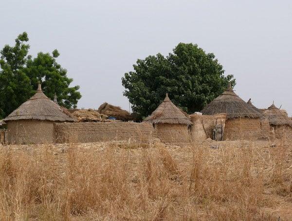 Деревня в Буркина-Фасо / Фото из Мали