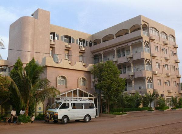 Отель 'Excellence' в Уагадугу – наше последнее пристанище / Фото из Мали