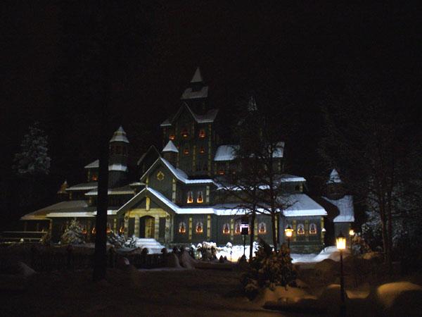 Сказочный замок / Фото из Норвегии