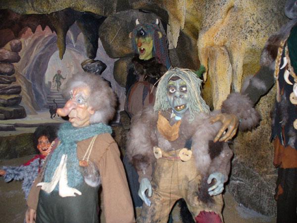 В пещере горного короля / Фото из Норвегии