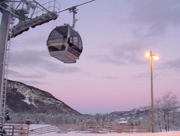 Хафьель - мечта начинающих горнолыжников / Фото из Норвегии