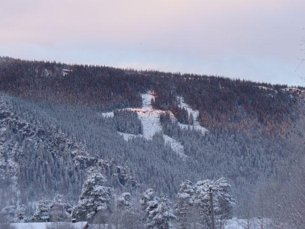Олимпийский человек на склоне / Фото из Норвегии