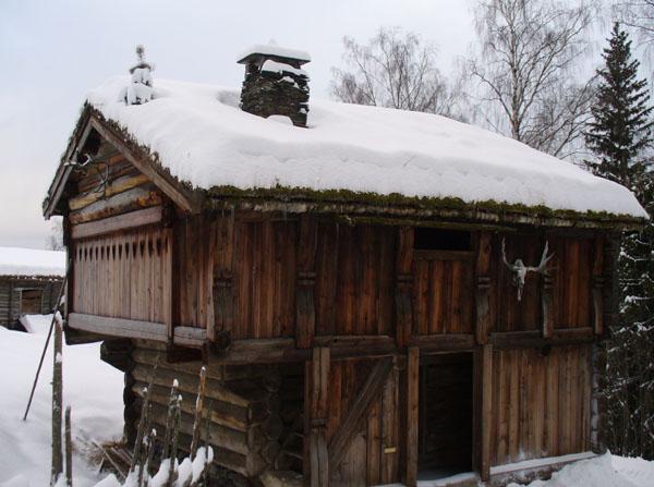 Дом 'с рогами' / Фото из Норвегии