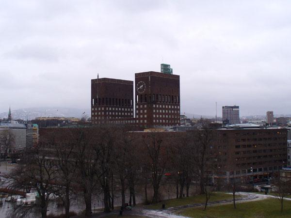 Ратуша в столице Норвегии / Фото из Норвегии