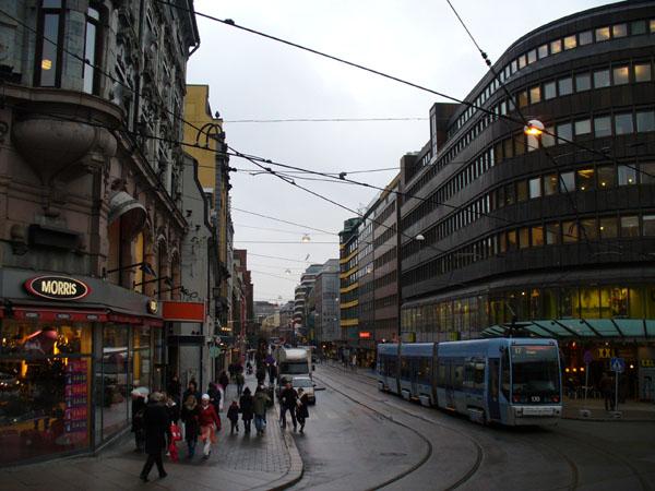 Осло - типичная скандинавская столица / Фото из Норвегии