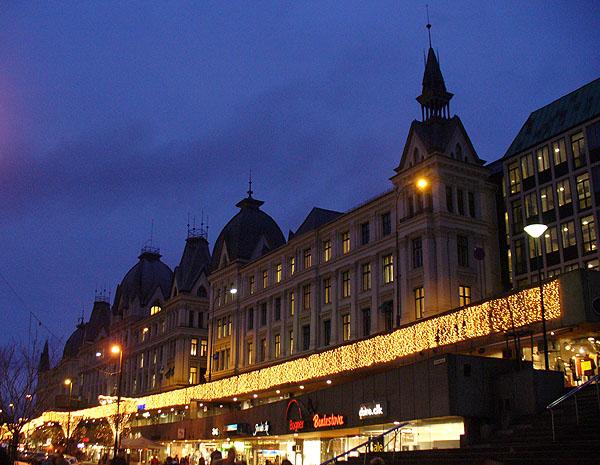 Очередной торговый центр в Осло / Фото из Норвегии