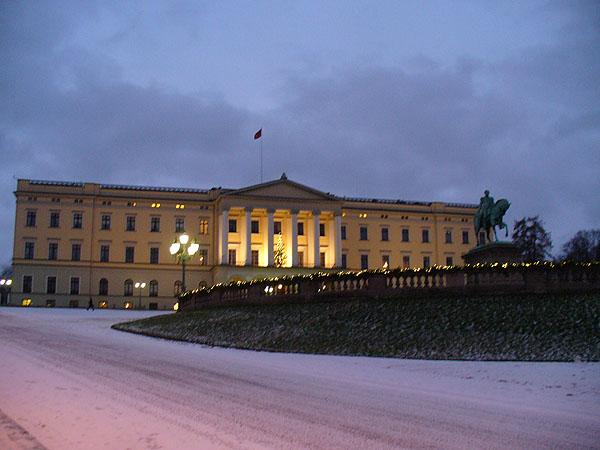 На Дворцовой площади / Фото из Норвегии