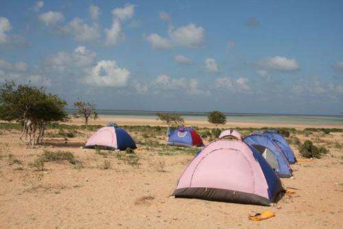 Палатки на Калансии / Йемен