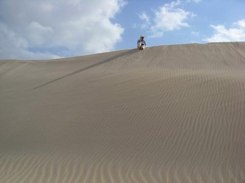 """Барханы белого песка в Zahik. Так сидела бы и повторяла: """"Красота!"""" / Йемен"""
