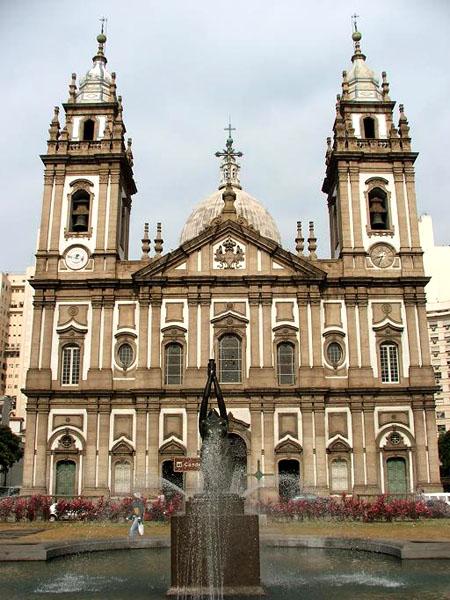 Церковь Канделария в центре Рио / Фото из Бразилии