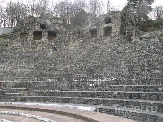 Античный театр в Лионе / Фото из Франции