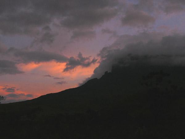 """Закат в """"затерянном мире"""" / Фото из Венесуэлы"""