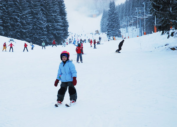 Ясна - неплохое место для начинающих горнолыжников / Фото из Словакии