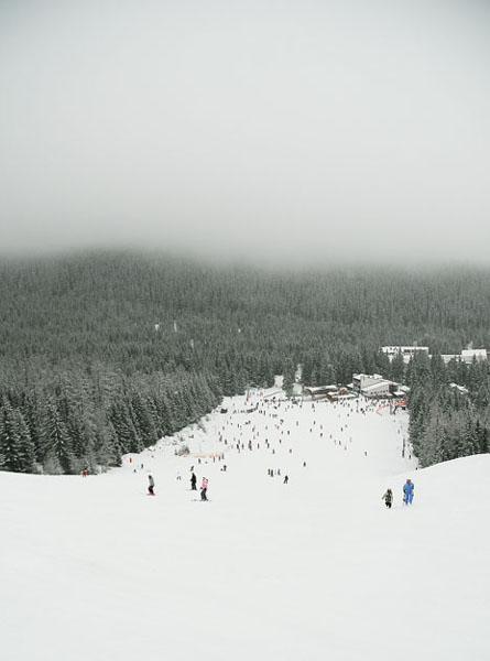 Туман над трассой, Ясна / Фото из Словакии